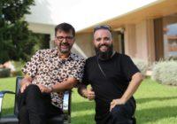 Carlos Canal con Rafatal en el OMAU Mlaga