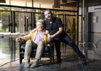Rafatal con Guillermo Busutil en el Palacio de Congresos de Torremolinos
